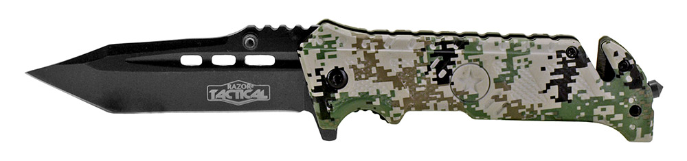 4.5 in Spring Assisted Folding Knife - Digital Camo