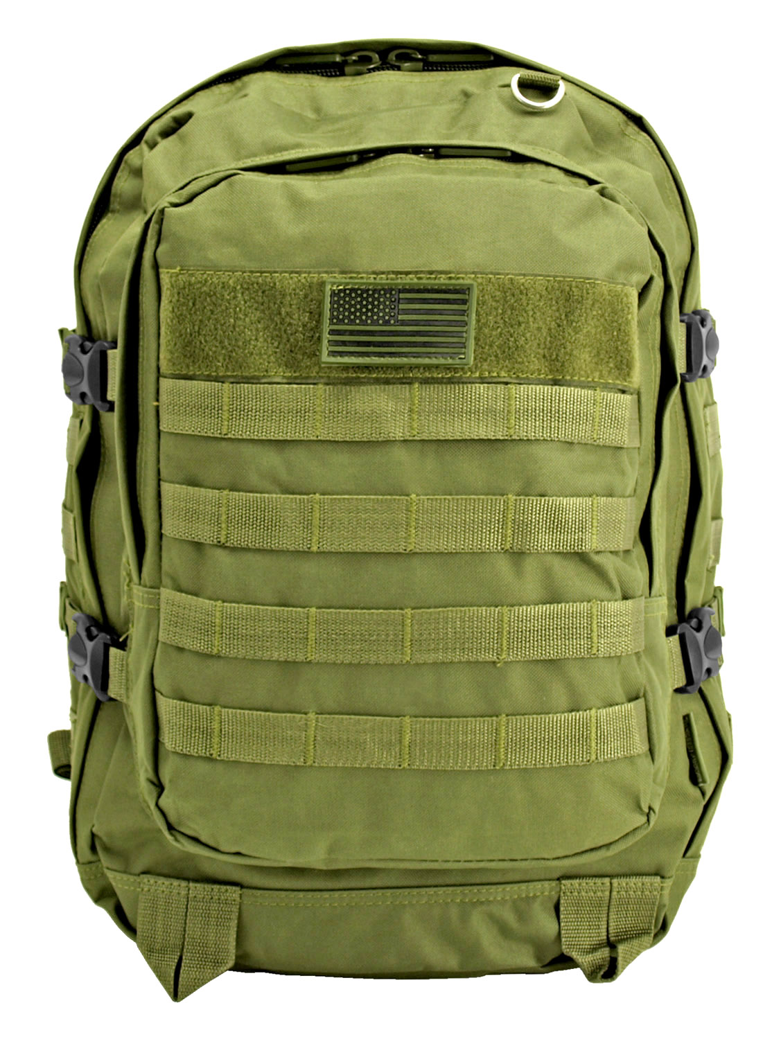Military Molle Pack - Olive Green