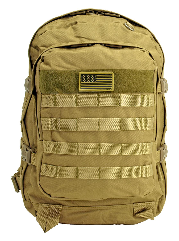 Military Molle Pack - Desert Tan