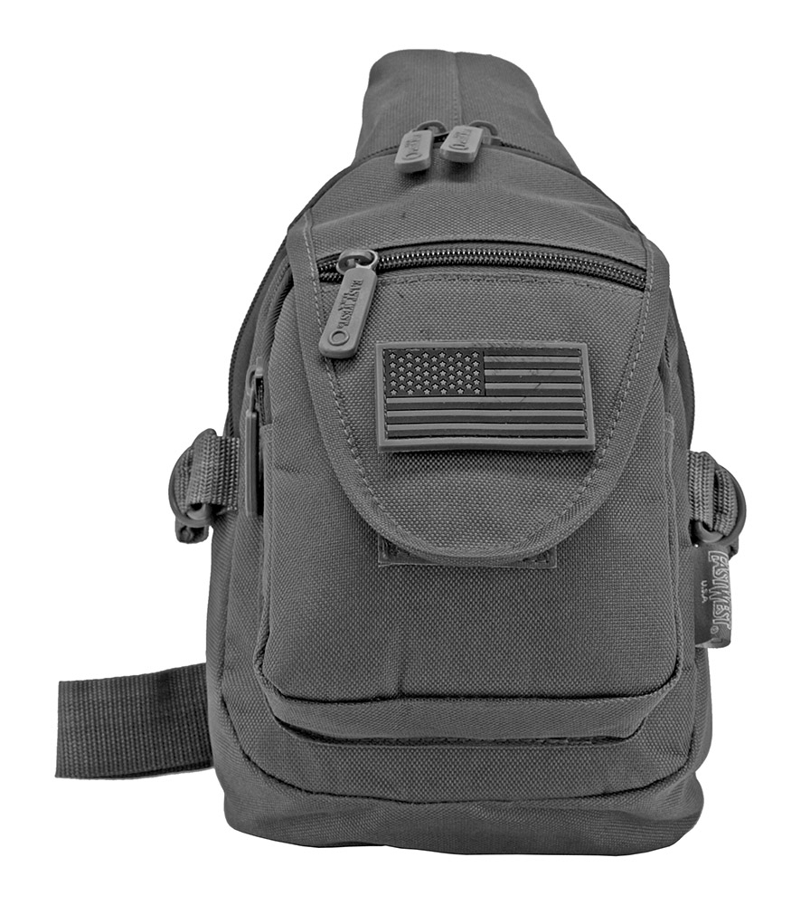 Military Sling Bag - Grey