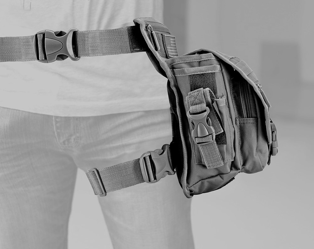 Tactical Hip Bag - Grey