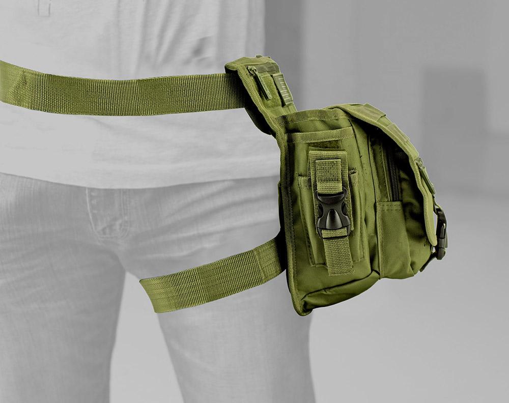 Tactical Hip Bag - Olive Green