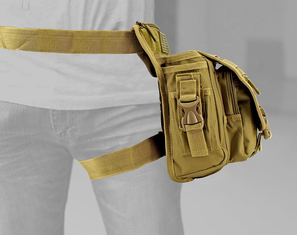 Tactical Hip Bag - Desert Tan