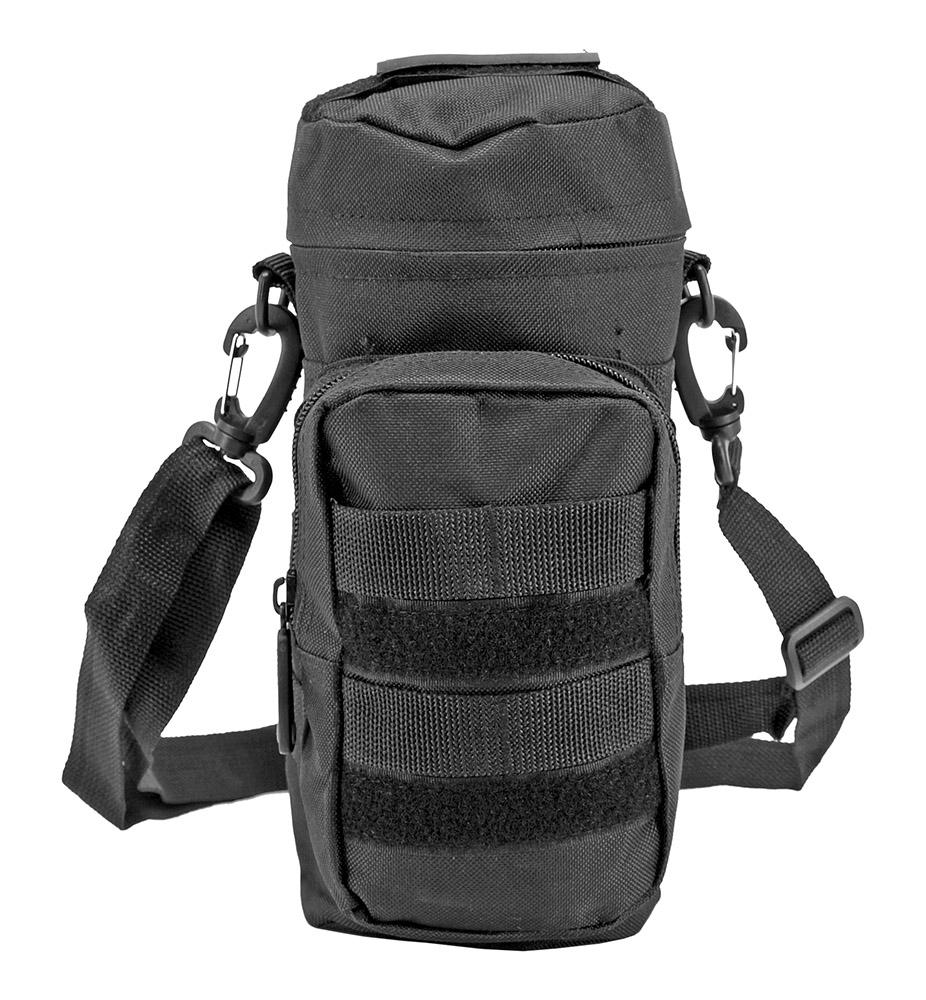 Molle Water Bottle Pack - Black