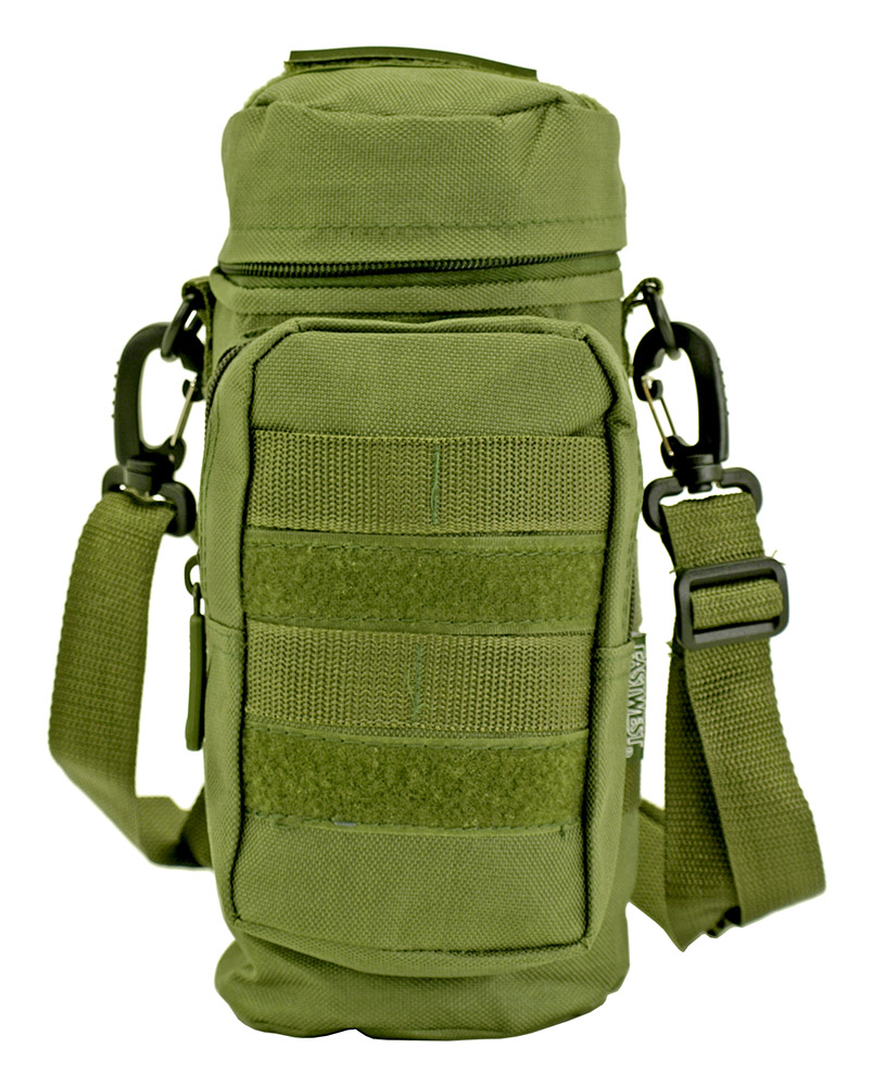 Molle Water Bottle Pack - Olive Green