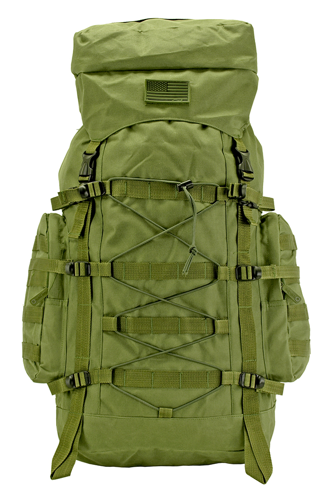 The Washington Hiking Pack - Olive Green