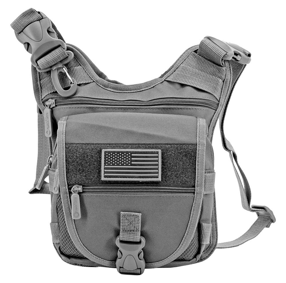 Tactical Sling Range Bag - Grey
