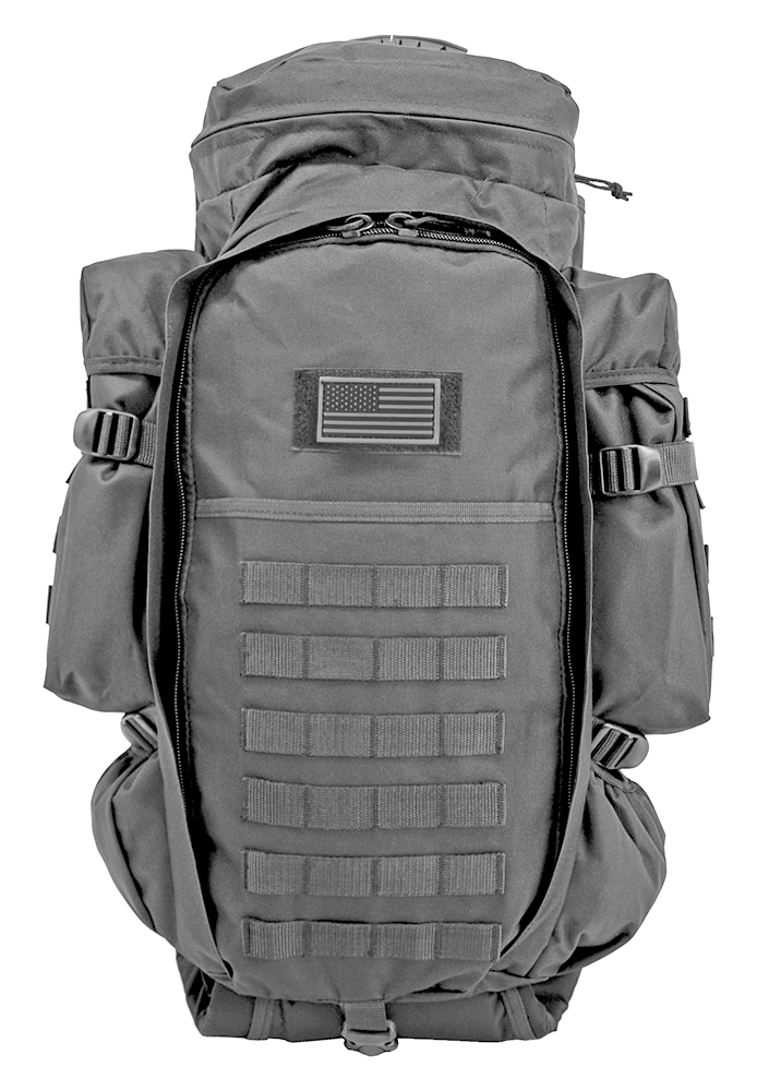 East West 9.11 Tactical Full Gear Rifle Backpack - Grey