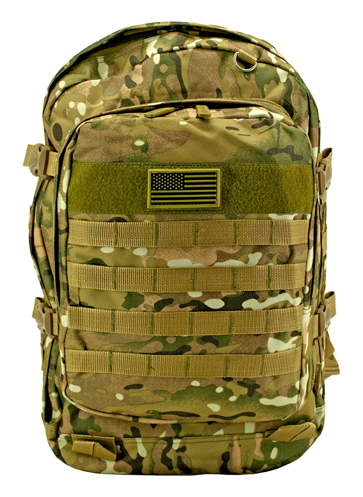 Military Molle Pack - Multicam