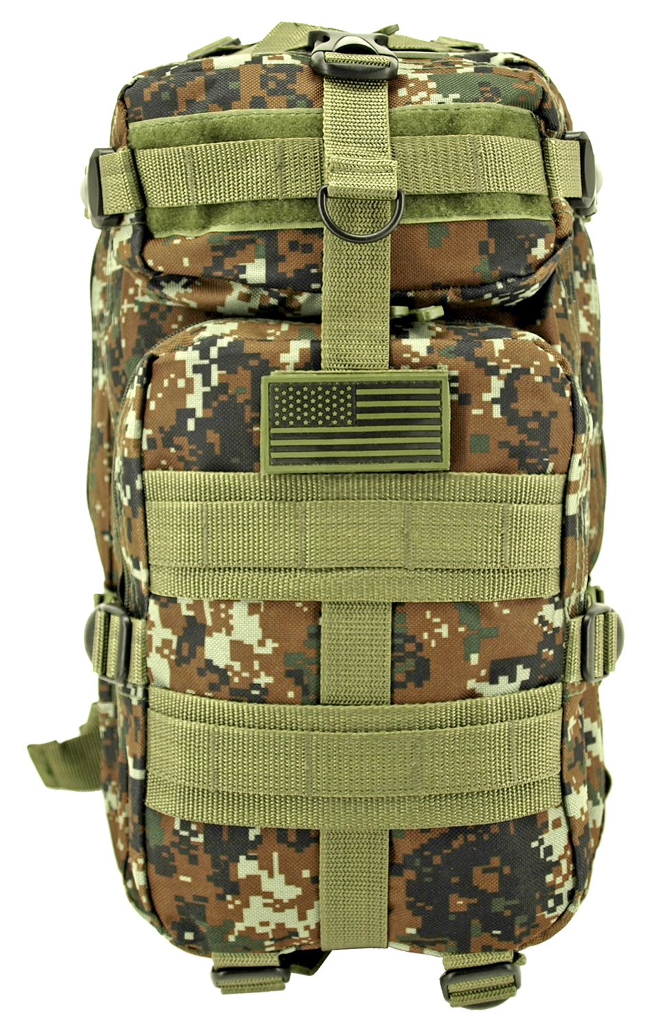 Mission Pack - Green Digital Camo