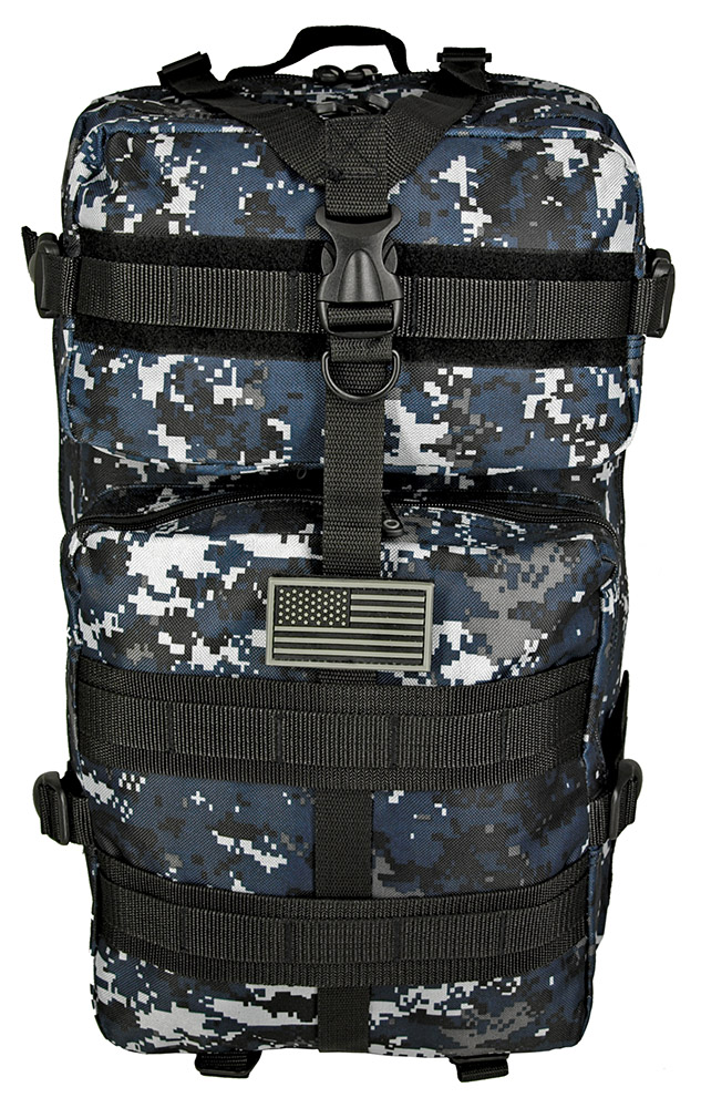 Mission Pack - Blue Digital Camo