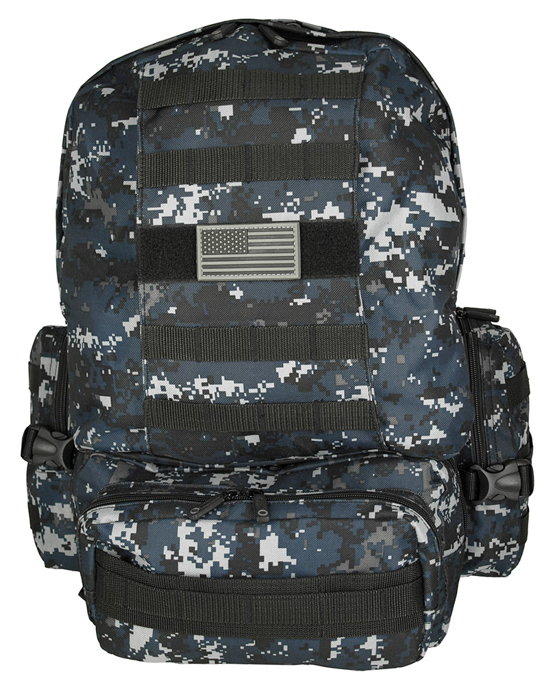 Deployment Bag - Blue Digital Camo