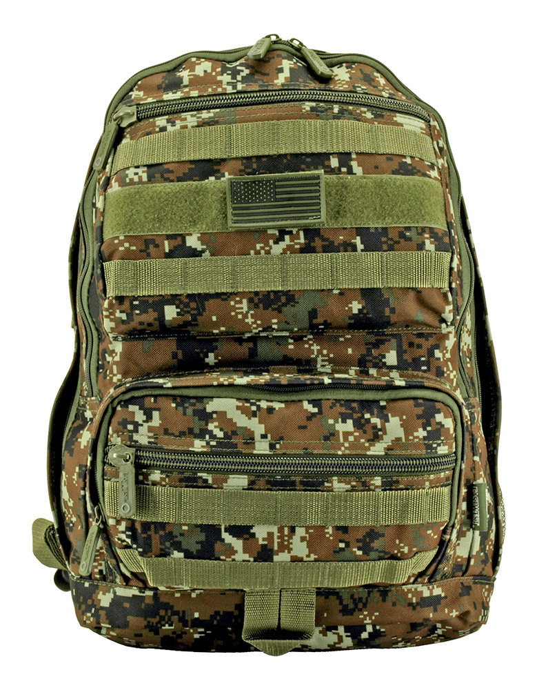Training Backpack - Green Digital Camo