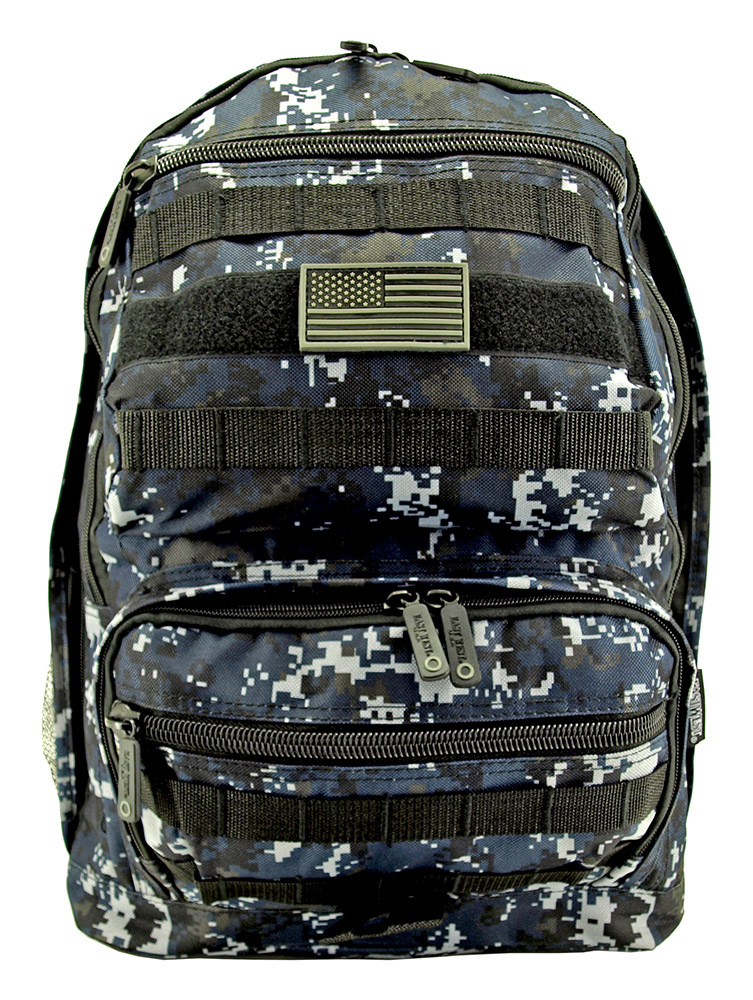Training Backpack - Blue Digital Camo