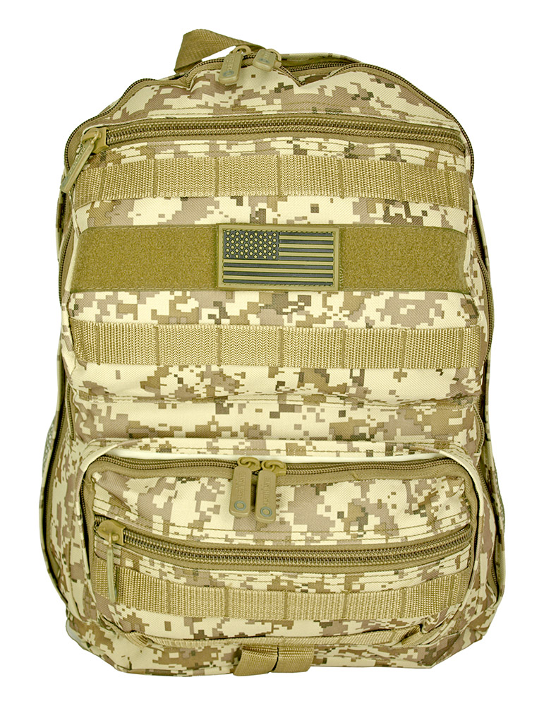 Training Backpack - Desert Digital Camo