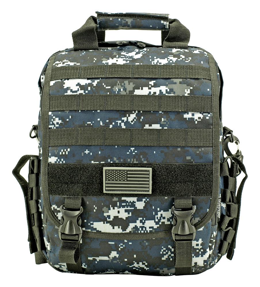 Tactical Traveler - Blue Digital Camo