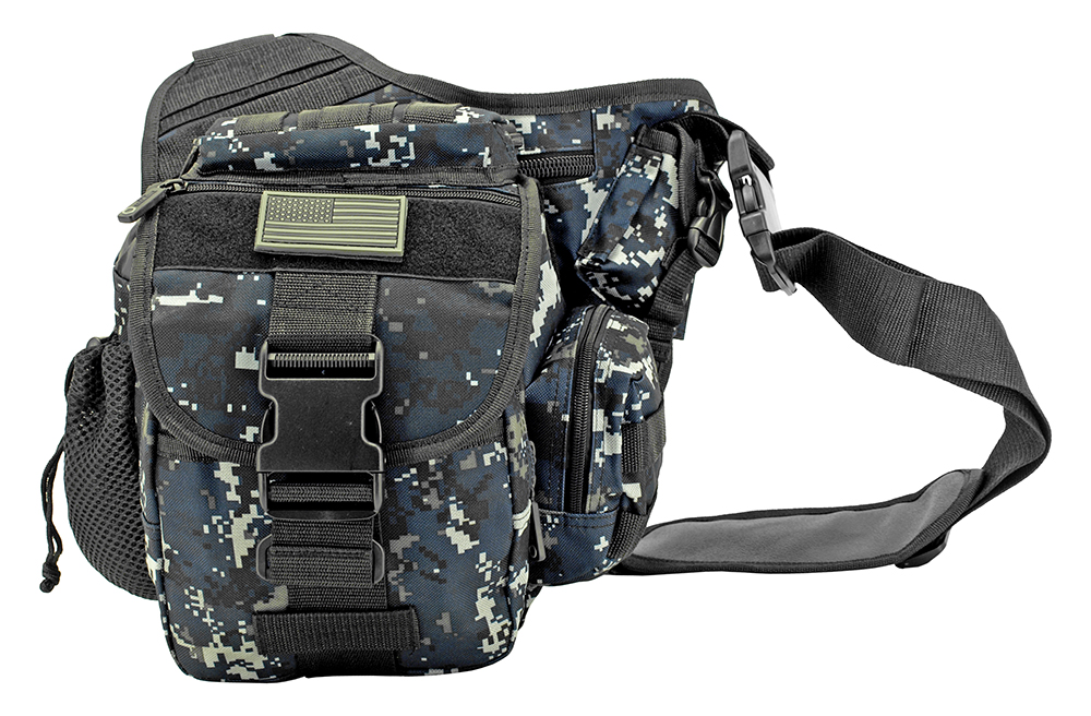 Trail Walker Bag - Blue Digital Camo