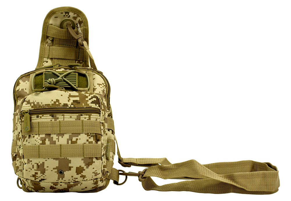 Tactical Hip Pack - Desert Digital Camo