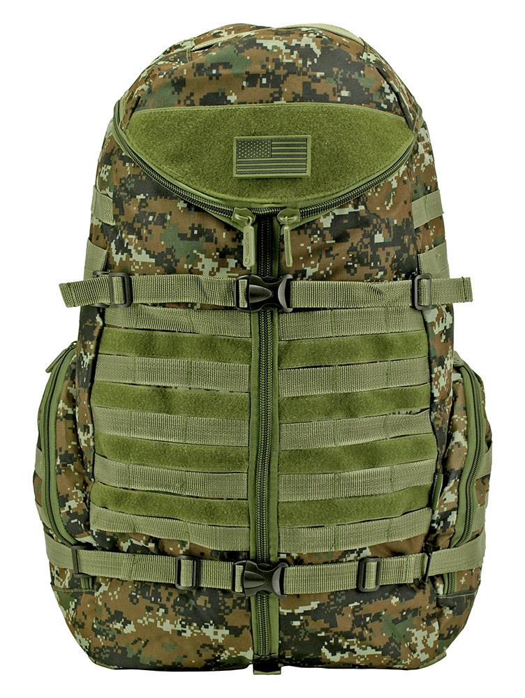 Half Shell Backpack - Green Digital Camo