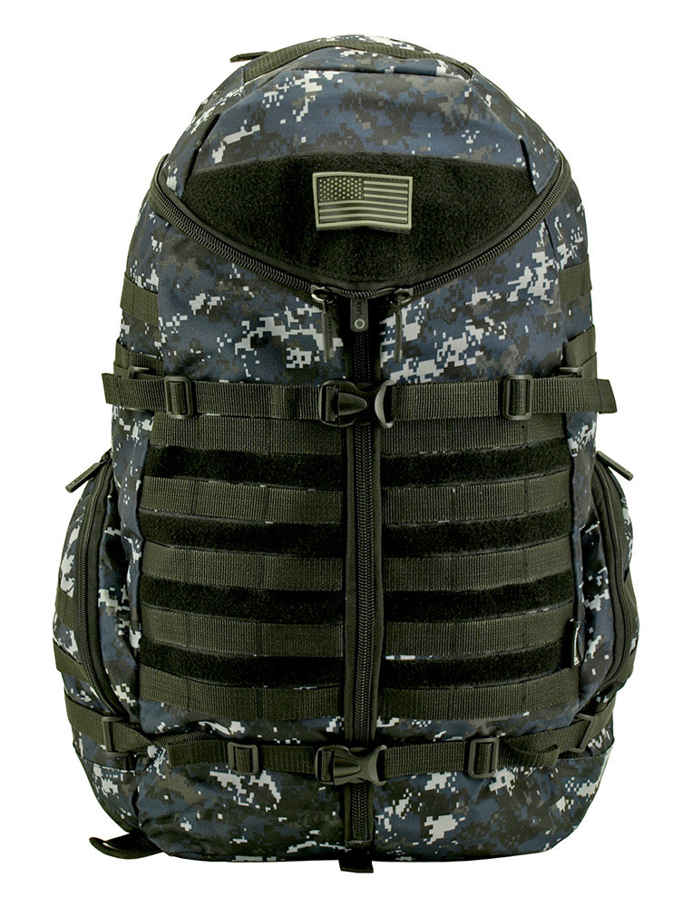 Half Shell Backpack - Blue Digital Camo