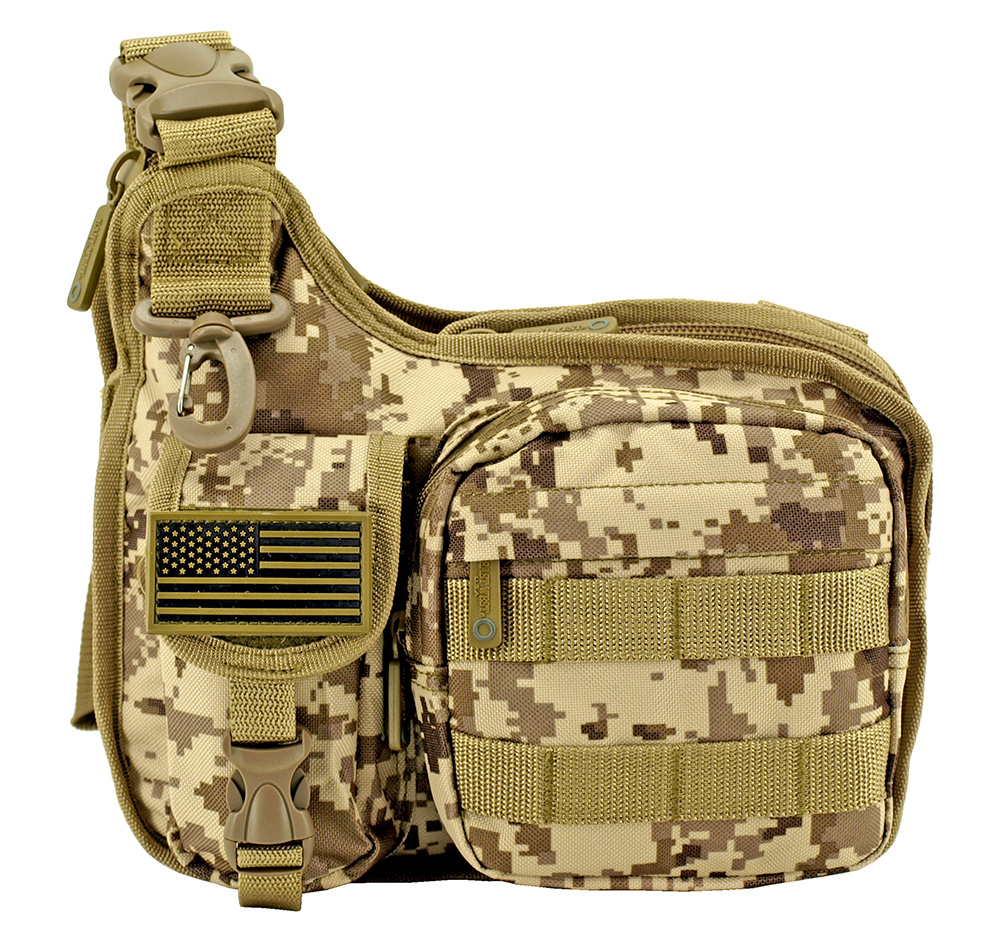 Gun Slinger Tactical Bag - Desert Digital Camo