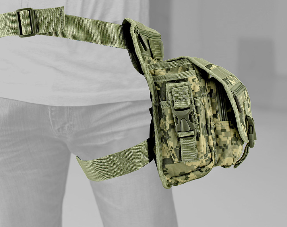 Tactical Hip Bag - Digital Camo