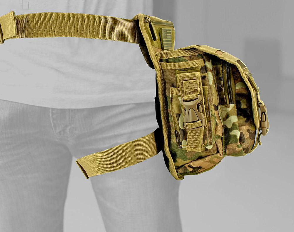 Tactical Hip Bag - Multicam