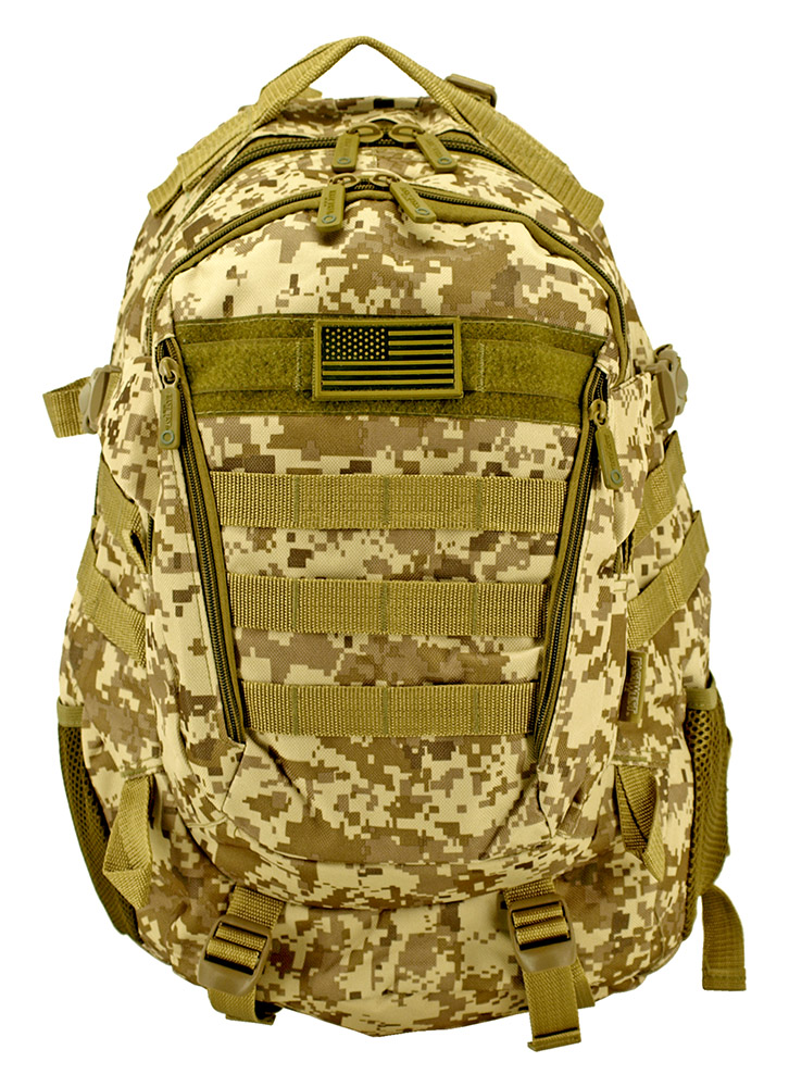 Athletic Backpack - Desert Digital Camo