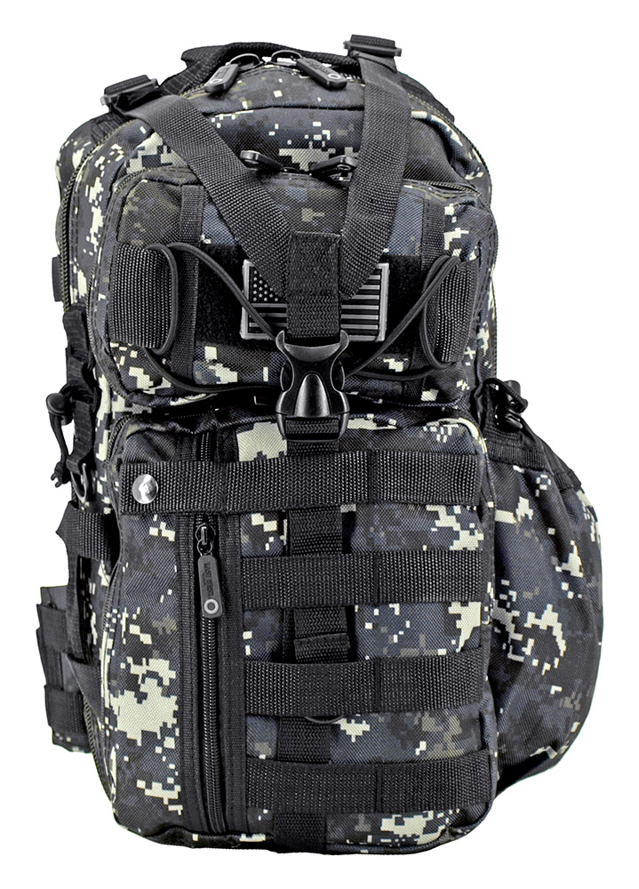 Readiness Sling Pack - Blue Digital Camo