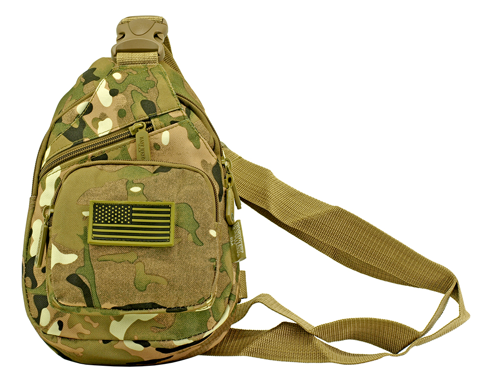 Military Side Sling Bag - Multicam