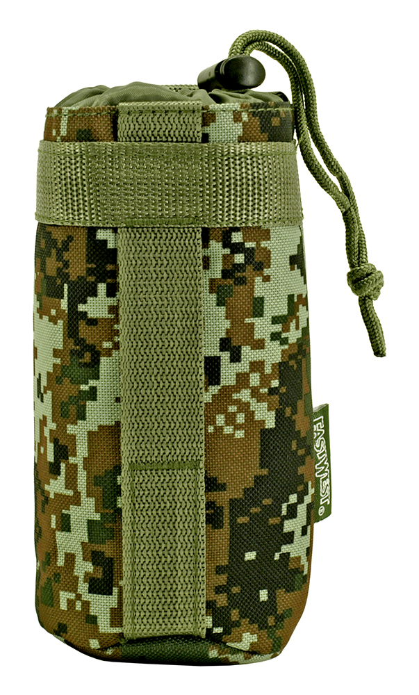 Tactical Water Bottle Holder - Green Digital Camo