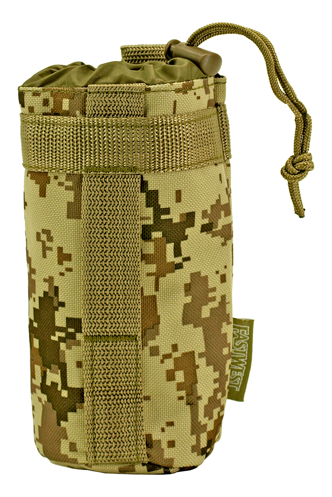 Tactical Water Bottle Holder - Desert Digital Camo