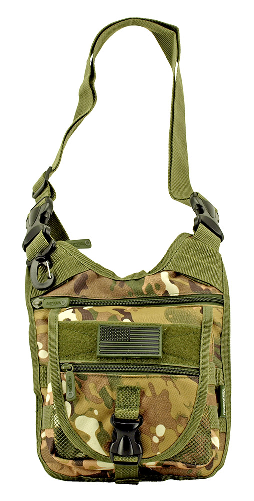 Tactical Sling Range Bag - Multicam