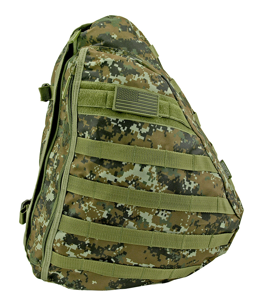 Tactical Sling Pack - Green Digital Camo