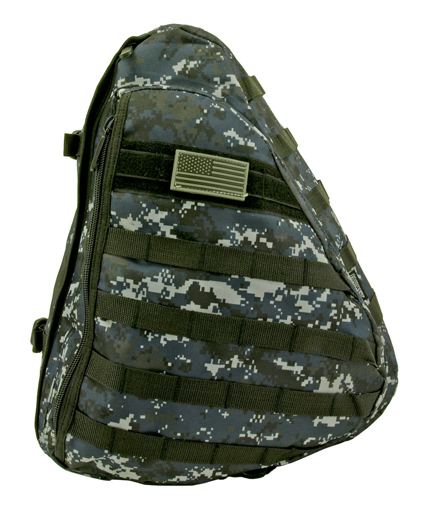 Tactical Sling Pack - Blue Digital Camo