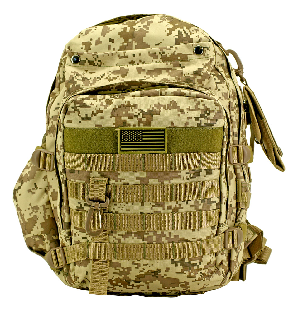 Molle Readiness Pack - Desert Digital Camo