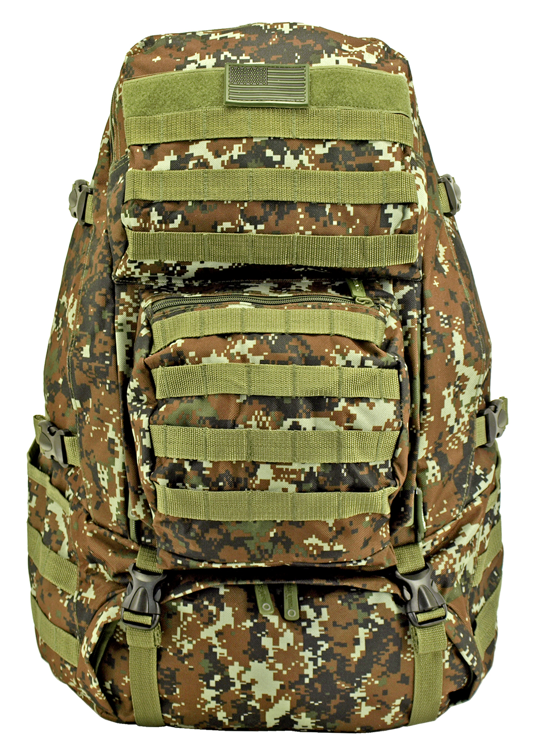 Large Tactical Readiness Pack - Green Digital Camo