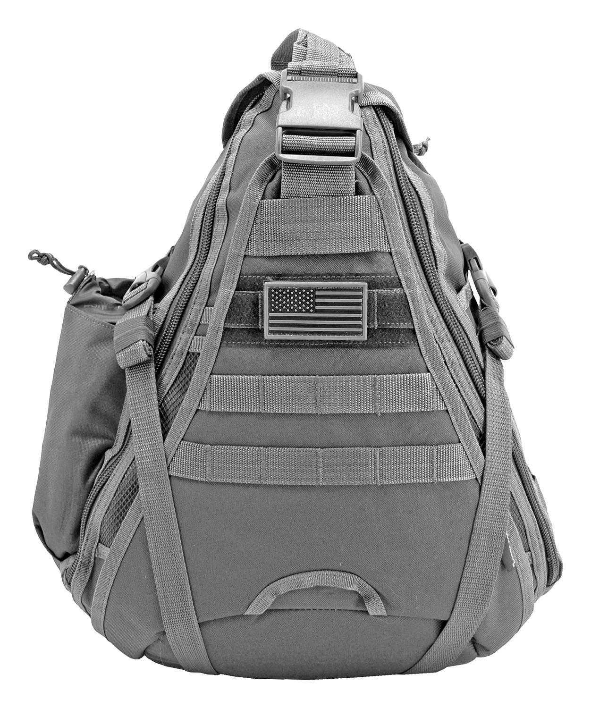 Military Sling Backback - Grey