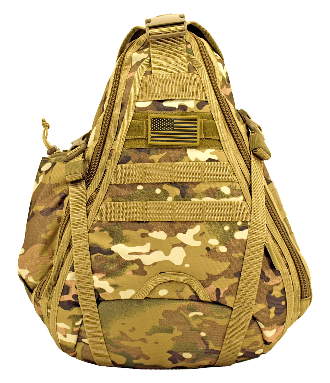 Military Sling Backback - Multicam