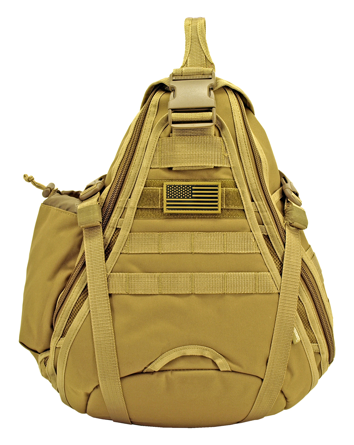 Military Sling Backback - Desert Tan