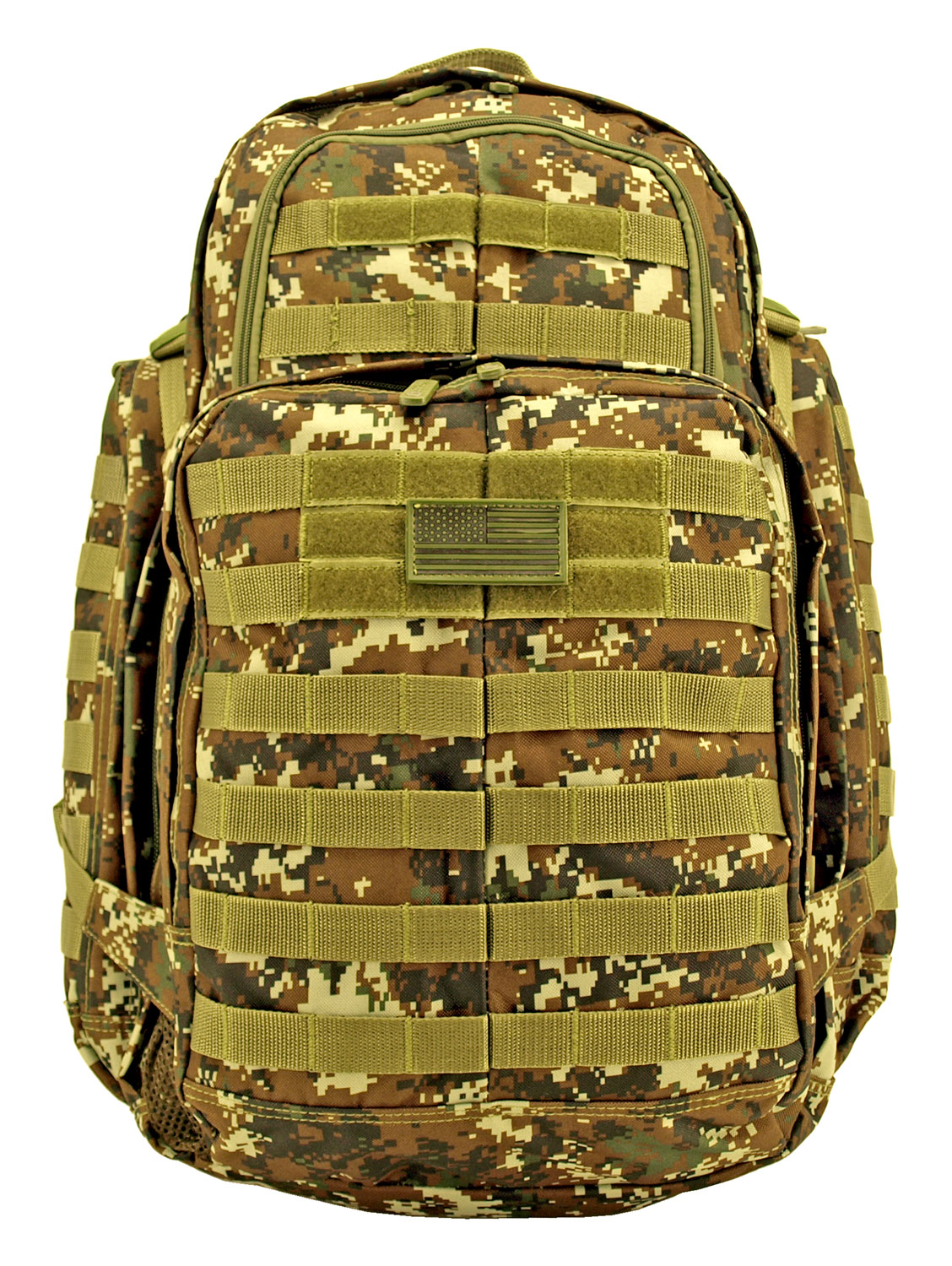 Expandable '73 Backpack - Green Digital Camo
