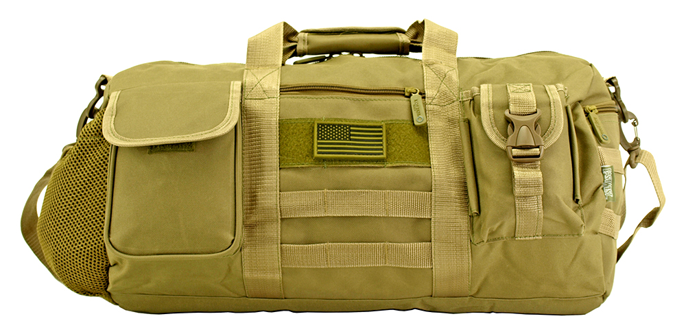 The Tactical Duffle Bag (Small) - Desert Tan