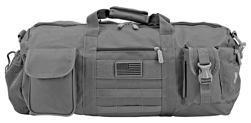 The Tactical Duffle Bag - Grey
