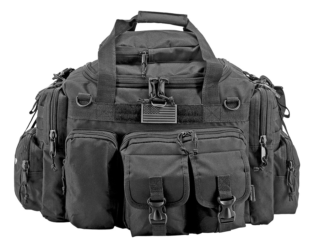 The Humvee Duffle Bag - Black