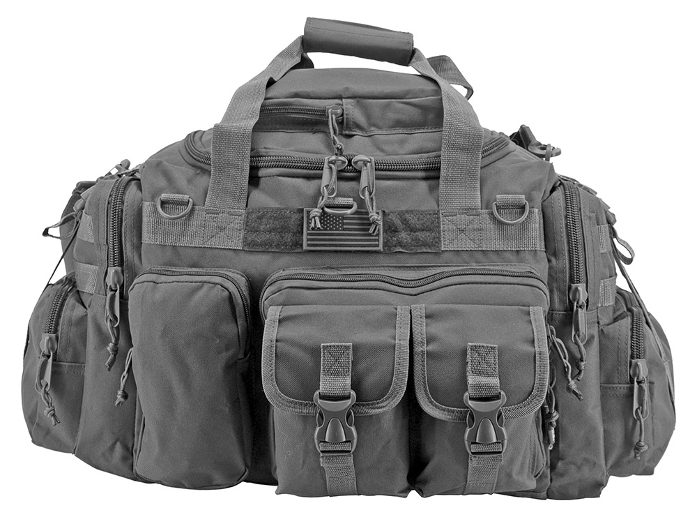 The Humvee Duffle Bag - Grey