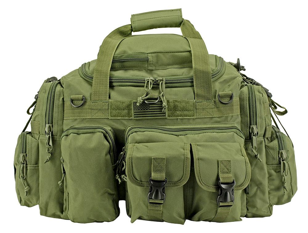 The Humvee Duffle Bag - Olive Green