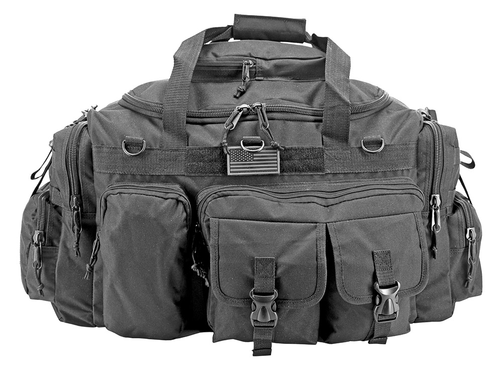 The Humvee Duffle Bag (Large) - Black