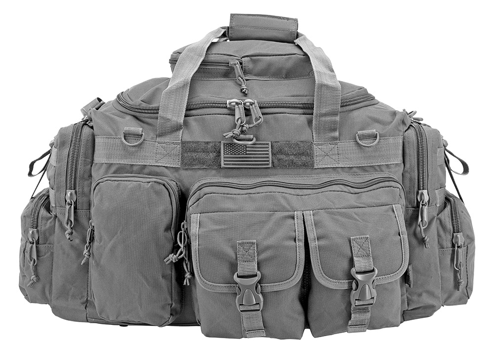 The Humvee Duffle Bag (Large) - Grey