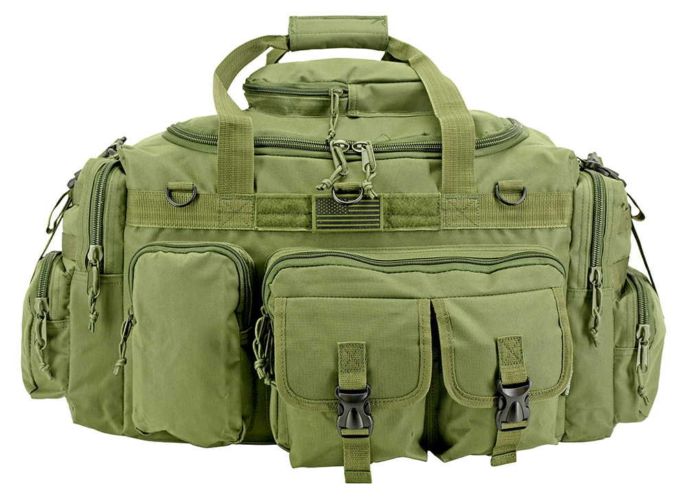 The Humvee Duffle Bag (Large) - Olive Green