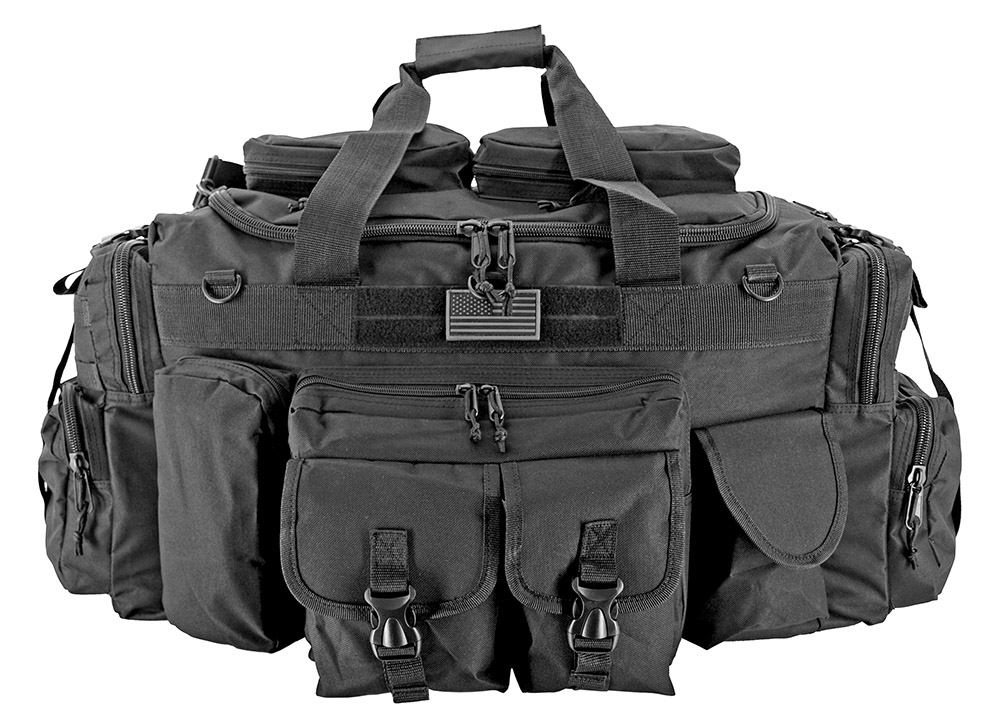 The Tank Duffle Bag (Large) - Black